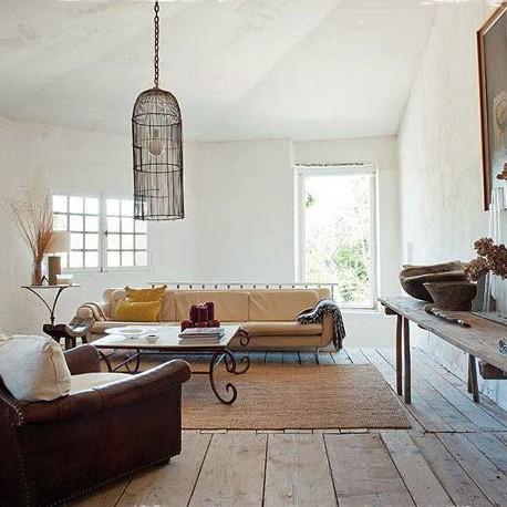 Una casa con estilo shabby chic homelifestyle magazine - Casas decoradas estilo shabby chic ...