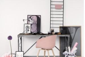 En rosa y gris... por Line Klein