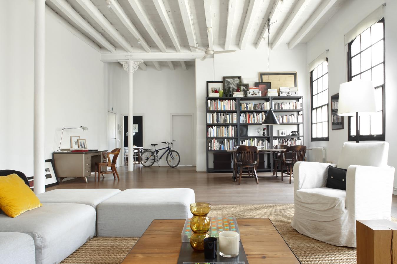 Semana masculina vivir en un loft en el coraz n de for New york of interior design