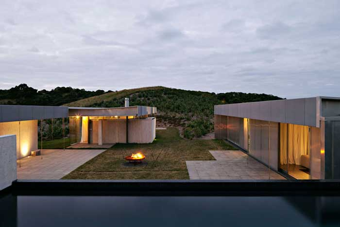 Home-Life-Style-Magazine-diseño-sostenible-Fearon-Hay-Architects-Patrick-Reynolds-atardecer