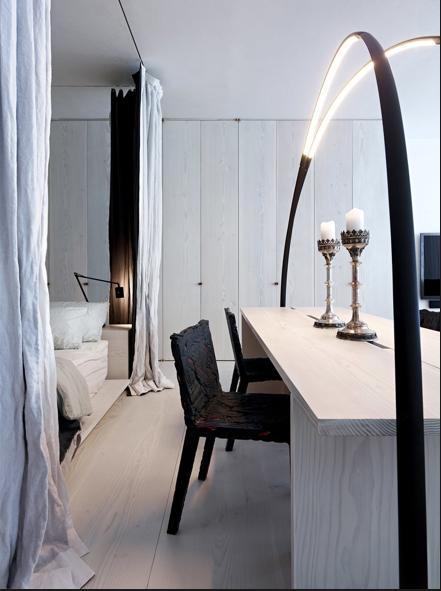 Vivir en un estudio con estilo