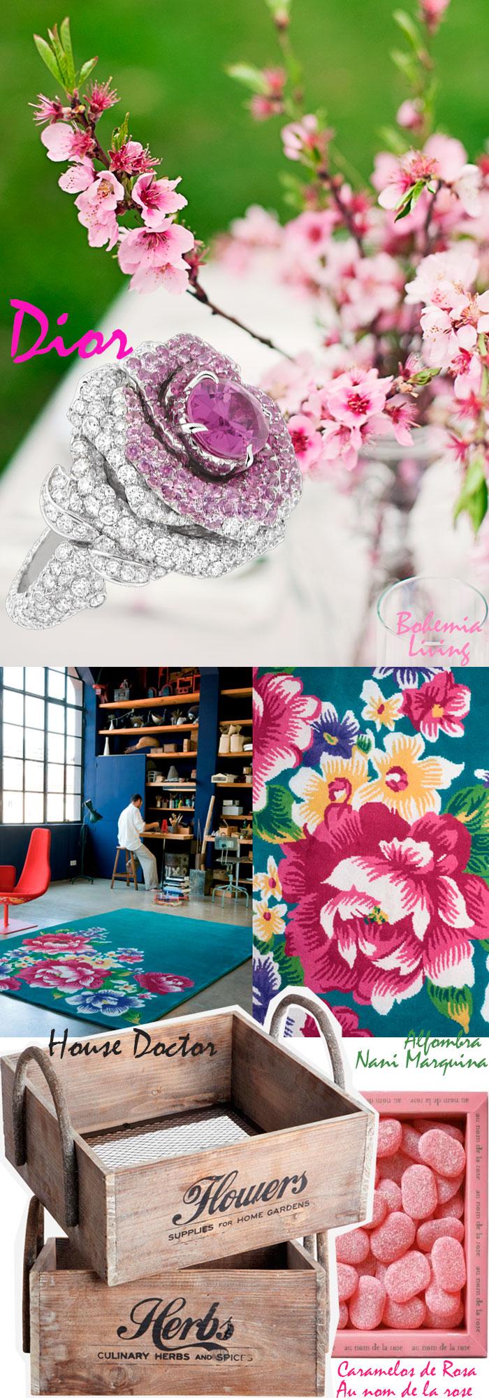 Flores tendencia verano 2013 Dior, Nani Marquina, House Doctor