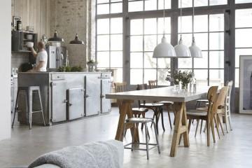 Casa Romance industrial