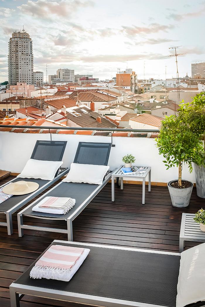 Madrid a vista de p jaro terrazas urbanas for Terrazas nocturnas madrid