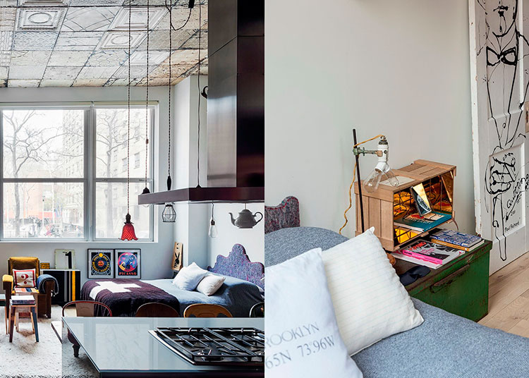 HomeLifeStyle-Magazine-Loft-en-Chelsea-dormitorio