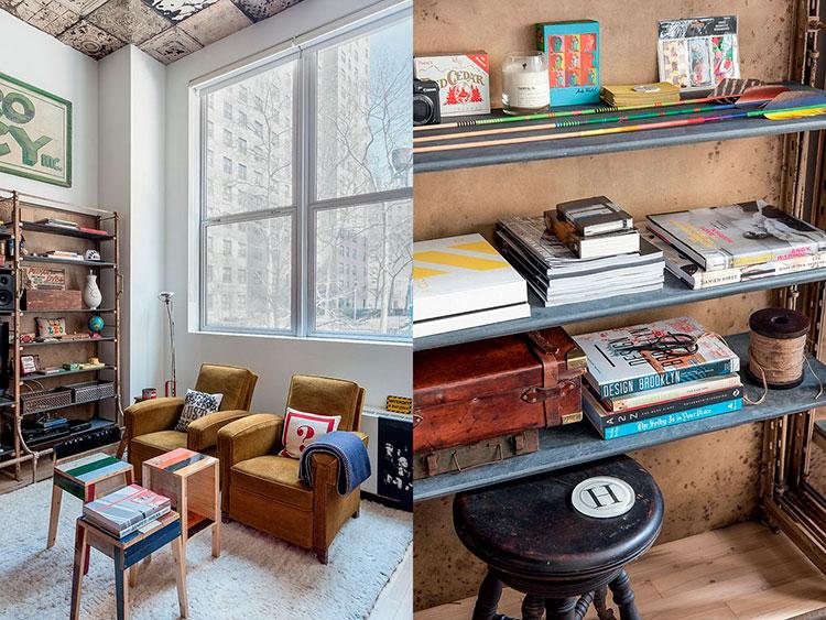 HomeLifeStyle-Magazine-Loft-en-Chelsea-salon