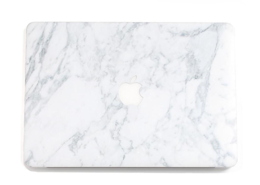 uniqfind.com Marble Macbook Skin