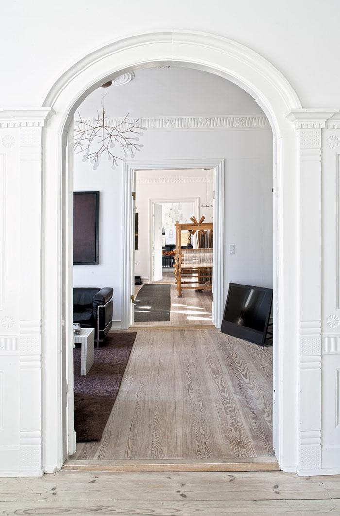 Un piso de estilo n rdico y esencia art stica - Piso estilo nordico ...