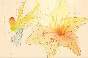 Homelifestyle-Codorníu-y-Conrad-Roset-pájaro
