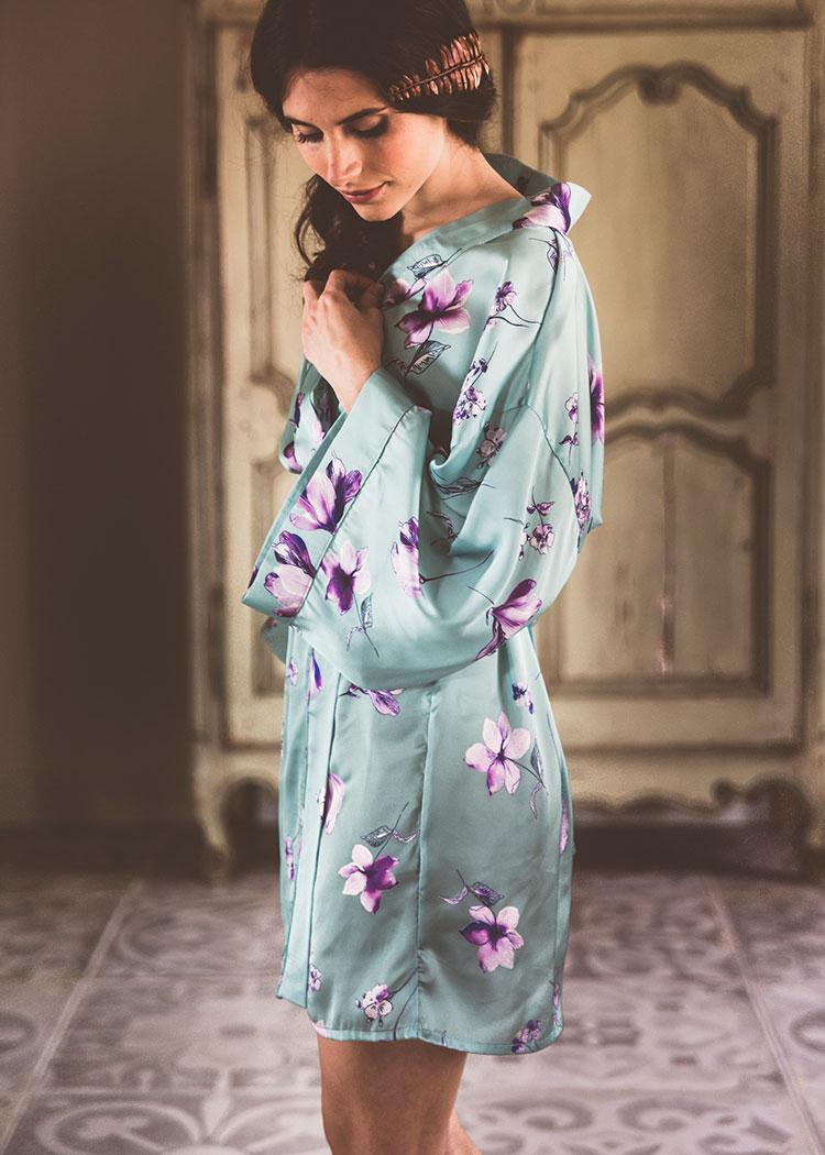 Khemeia: kimonos con alma para novias boho-chic - HomeLifeStyle Magazine