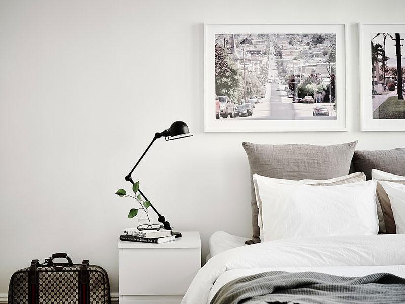 Estilo n rdico luminosidad y car cter en blanco y negro - Dormitorios estilo nordico ...