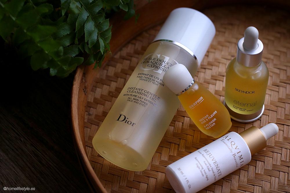Aceites-de-belleza-Dior-Darphin-Skeyndor-Alqvimia-oil