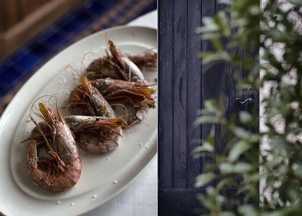 escapada-costa-brava-otono-gambas-aperitivo-restaurante-hotel-el-far-maria-algara-regas