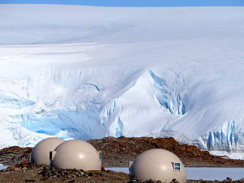 white-desert-pods-with-icefall