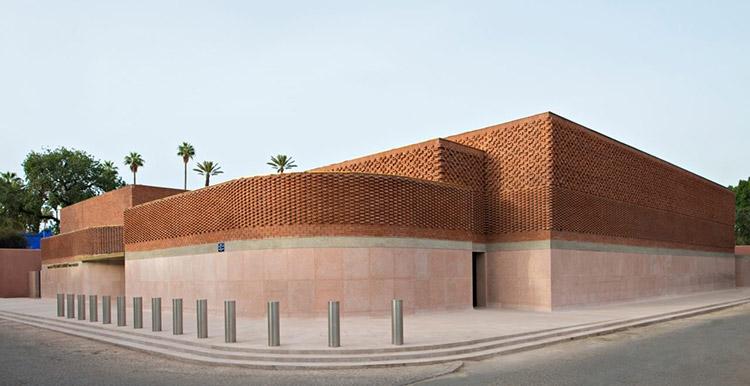 corner-Museo-Yves-saint-Laurent-en-Marrakech