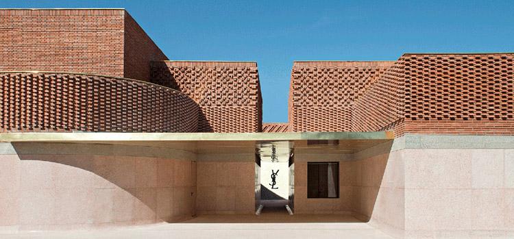 entrada-Museo-Yves-saint-Laurent-en-Marrakech
