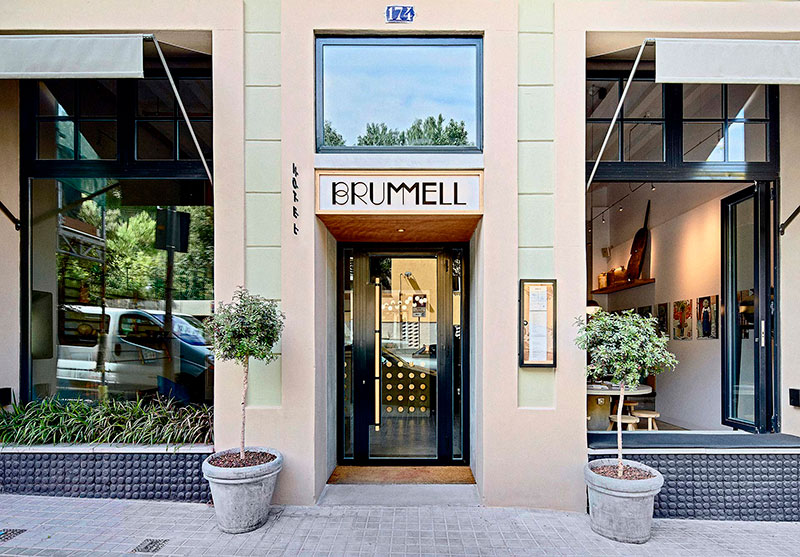Hotel-Brummell-puerta